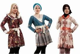 model baju batik Kerja Modis dan Trendy Terbaru
