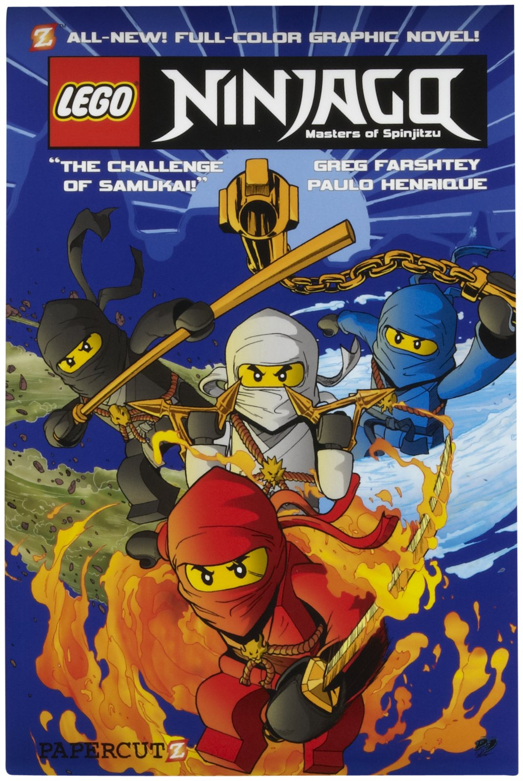 All About Bricks: Review: Ninjago Graphic Novels #1 & #2