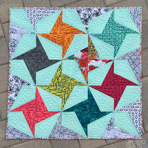 My Hand Maker Fabric Firecracker Quilt A Giveaway Jaybird Quilts