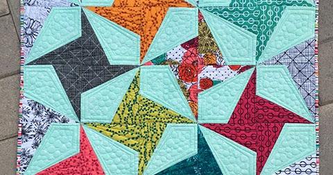 My Hand Maker Fabric Firecracker Quilt A Giveaway