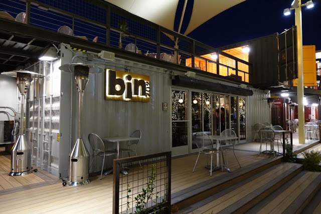 Container cafe design