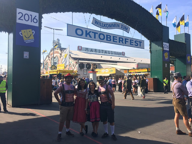 Entrada do Oktoberfest - Munique - Alemanha