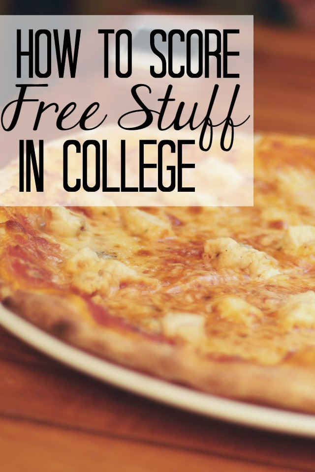 How to Score Free Stuff in College - Seekingthesouthblog.blogspot.com