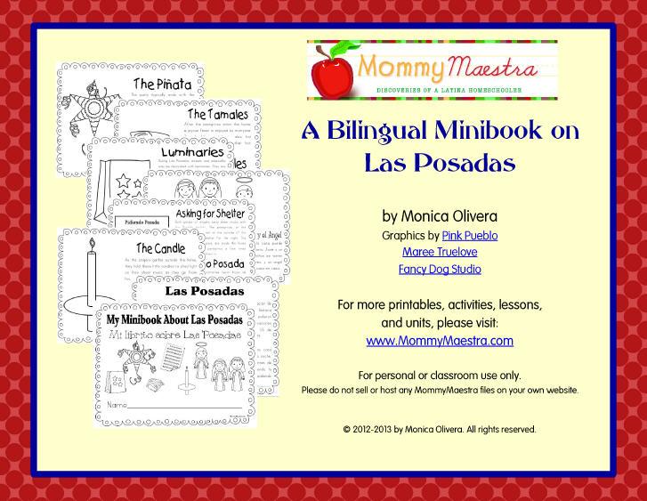 Mommy Maestra: Las Posadas Lesson Plans, Crafts, Activities