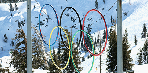 Squaw Valley Lake Tahoe California Olympics