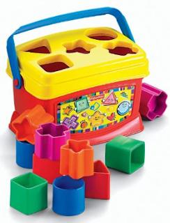 Permainan Shaping Sorter Untuk Bayi