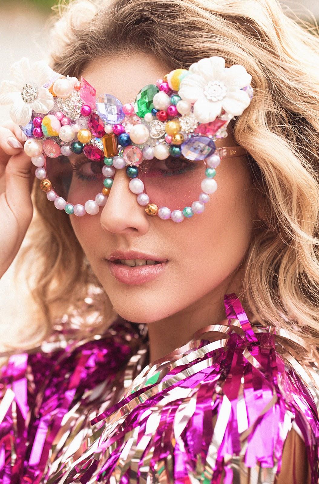 oculos de sol divertido carnaval