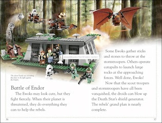 Sample page #1 from Lego Star Wars -- THE EMPIRE STRIKES BACK  by Emma Grange