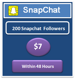 200 snapchat followers