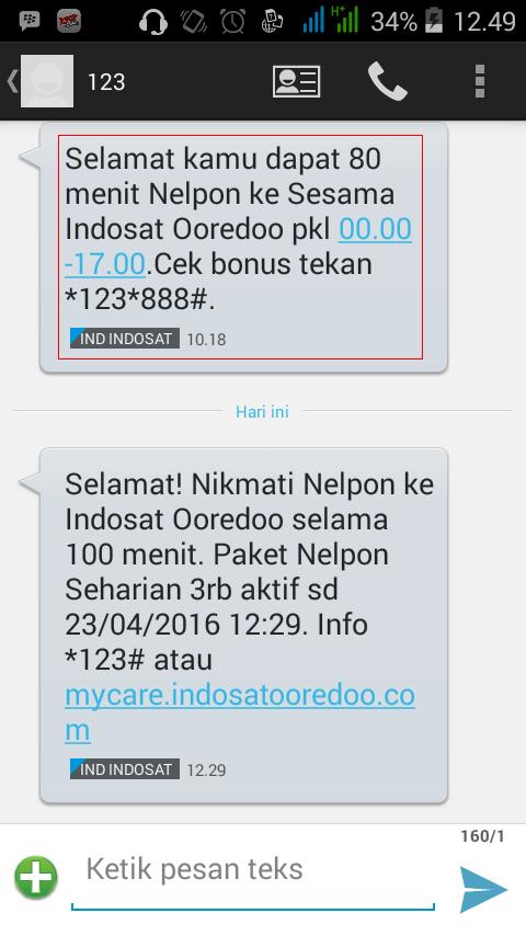 Cara Daftar Paket Nelpon Murah Indosat Ooredoo Komunitas Blog