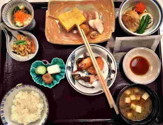 wachosoku masakan jepang japanese food sarapan breakfast meal