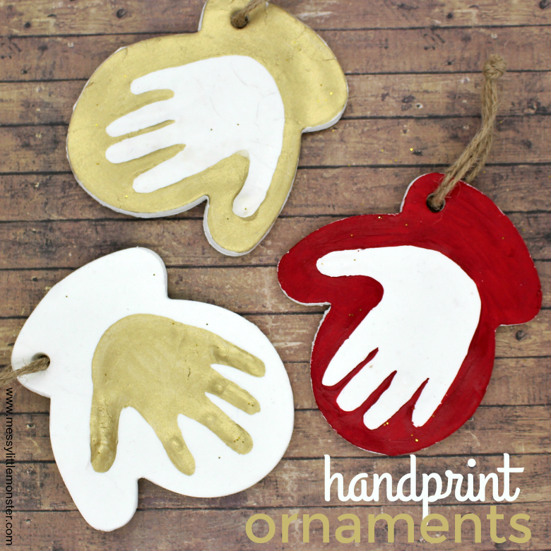 Clay Baby Handprint Ornament - The Cutest Baby Keepsake!