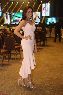 Aishwarya Devan in lovely Light Pink Sleeveless Gown 030.JPG