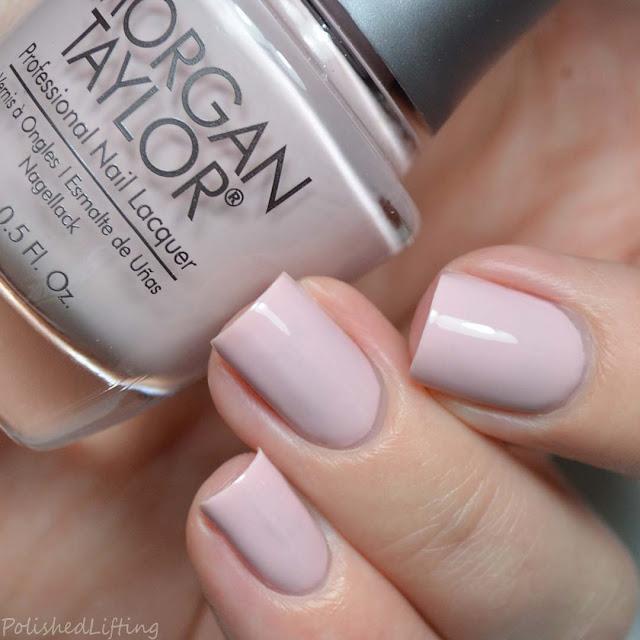 blush creme nail polish