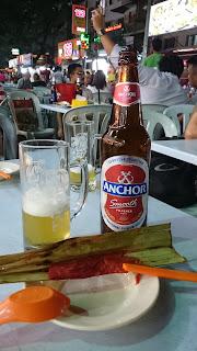 Anchor beer Jalan Alor Bukit Bintang Kuala Lumpur
