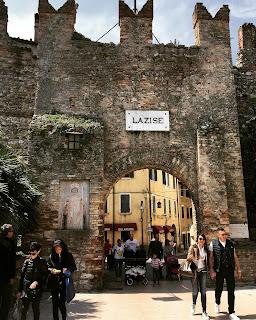 Stadtmauern von Lazise, Gardasee