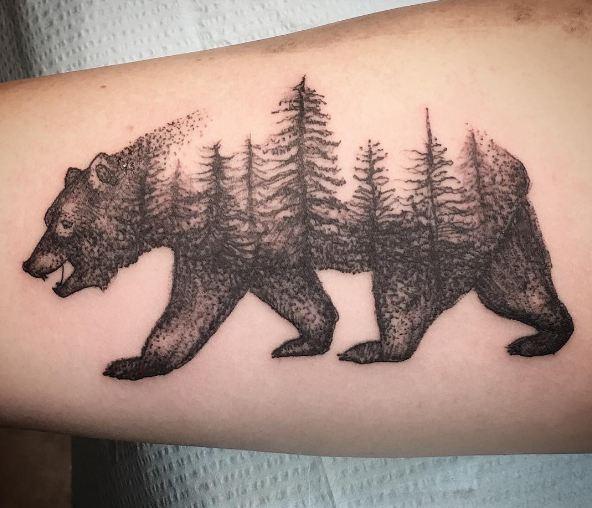 Tatuajes De Osos Y Su Significado Protector Y Guerrero Belagoria
