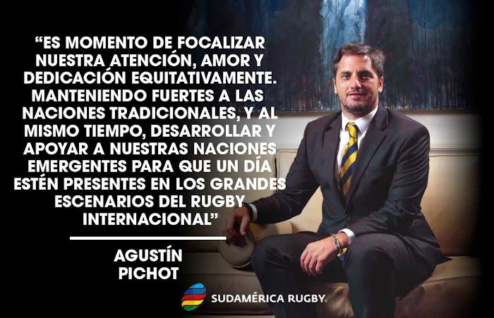 Pichot lanzó su candidatura a Presidente de World Rugby