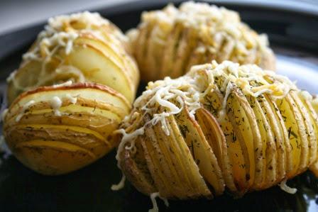 Patatas Hasselback (Hasselbackpotatis)