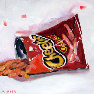 crunchy-cheetos-oil-painting-by-merrill-weber