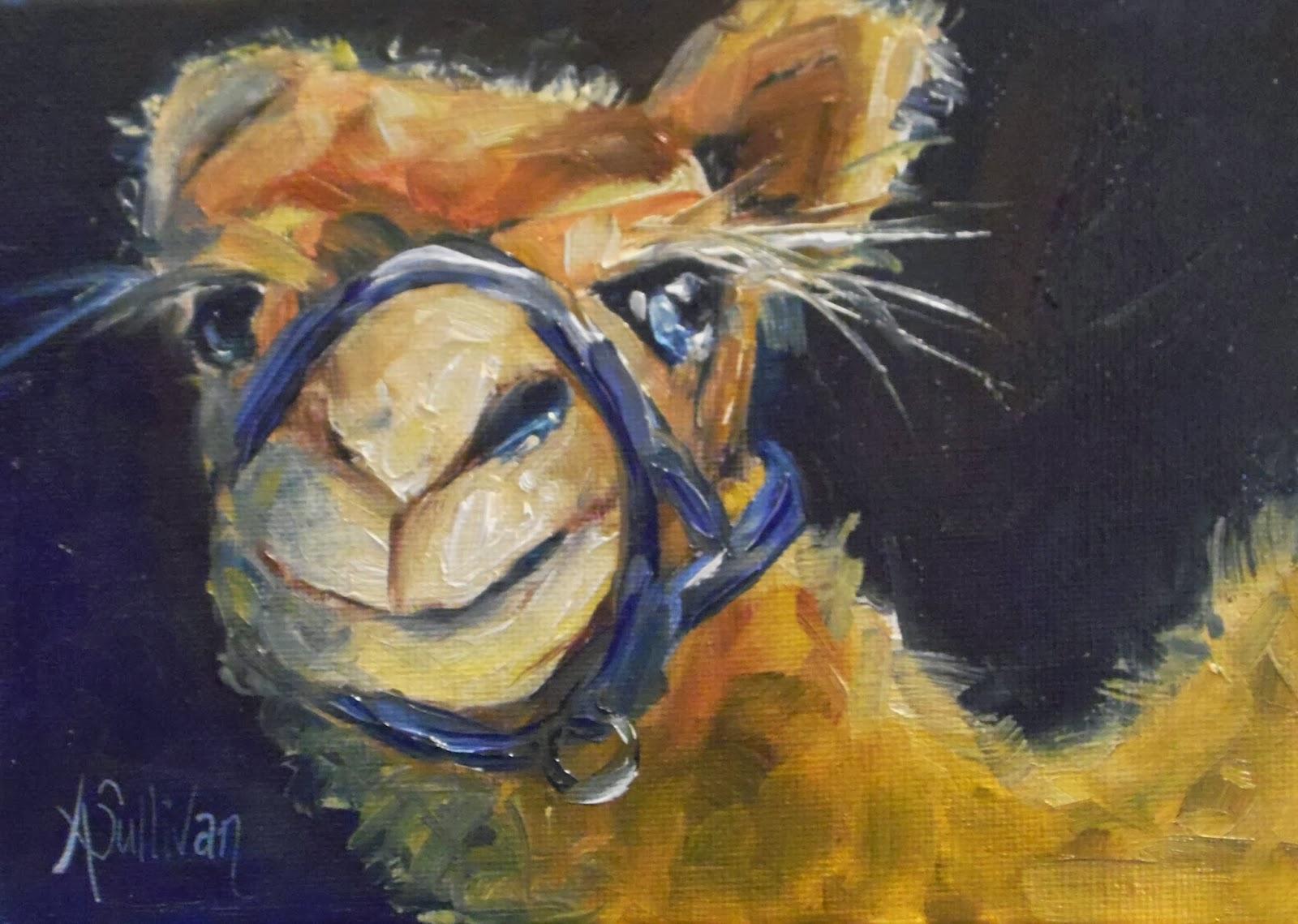 THROUGH THE EYES OF AN ARTIST: Midnight Desert camel
