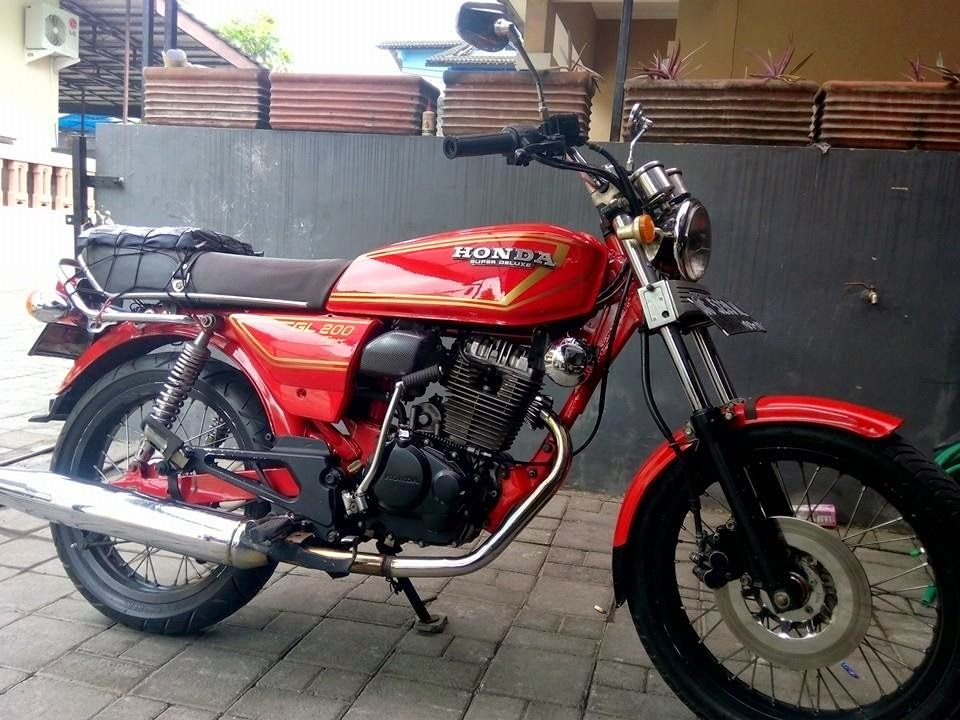 Tiger Modifikasi Gl 100 Cb Indonesia