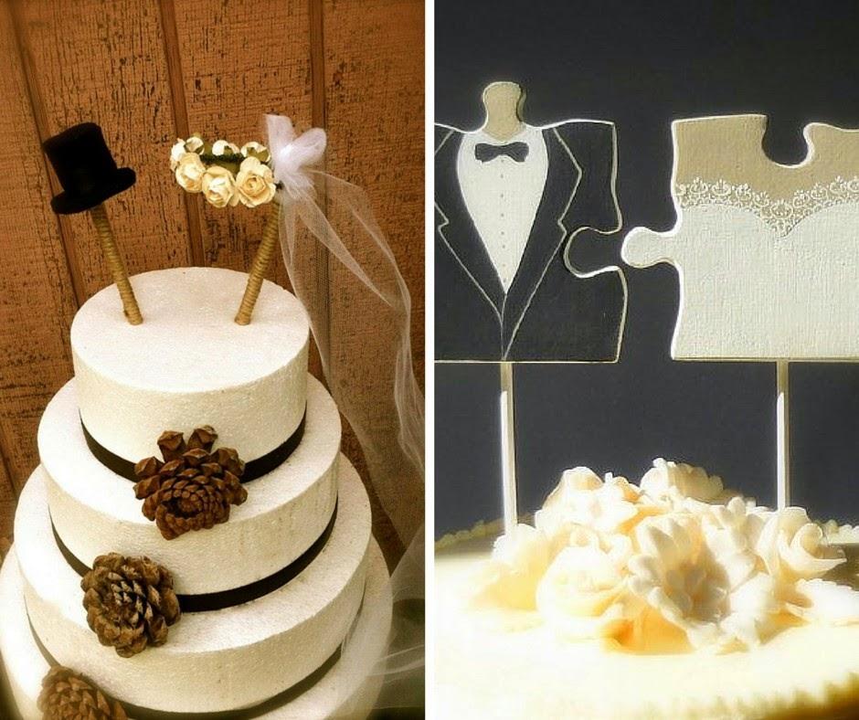 нетипични сватбени фигурки за тортата на сватбата