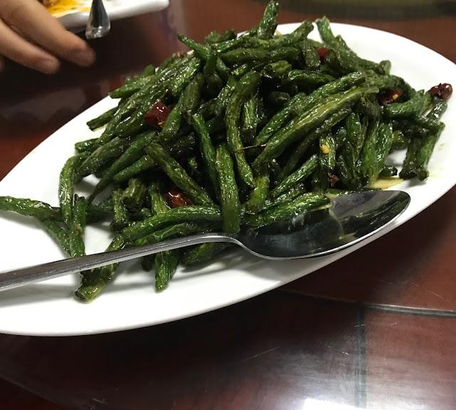 Little Si Chuan Xiao Sichuan, Mauritius, stir fried green beans