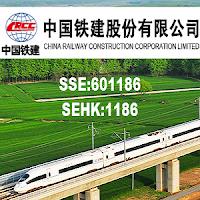 중국주식 SSE: 601186 SEHK: 1186 중국철건 주가 차트 中國鐵建 CRCC China Railway Construction