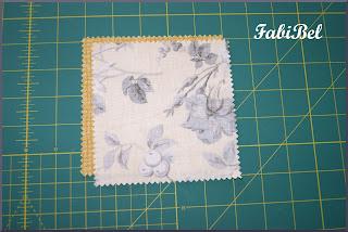 Patchwork Assemblage des pièces de tissu