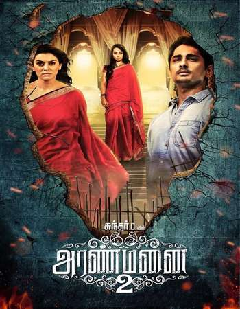 Aranmanai 2 2016 UNCUT Hindi Dual Audio HDRip Full Movie Download