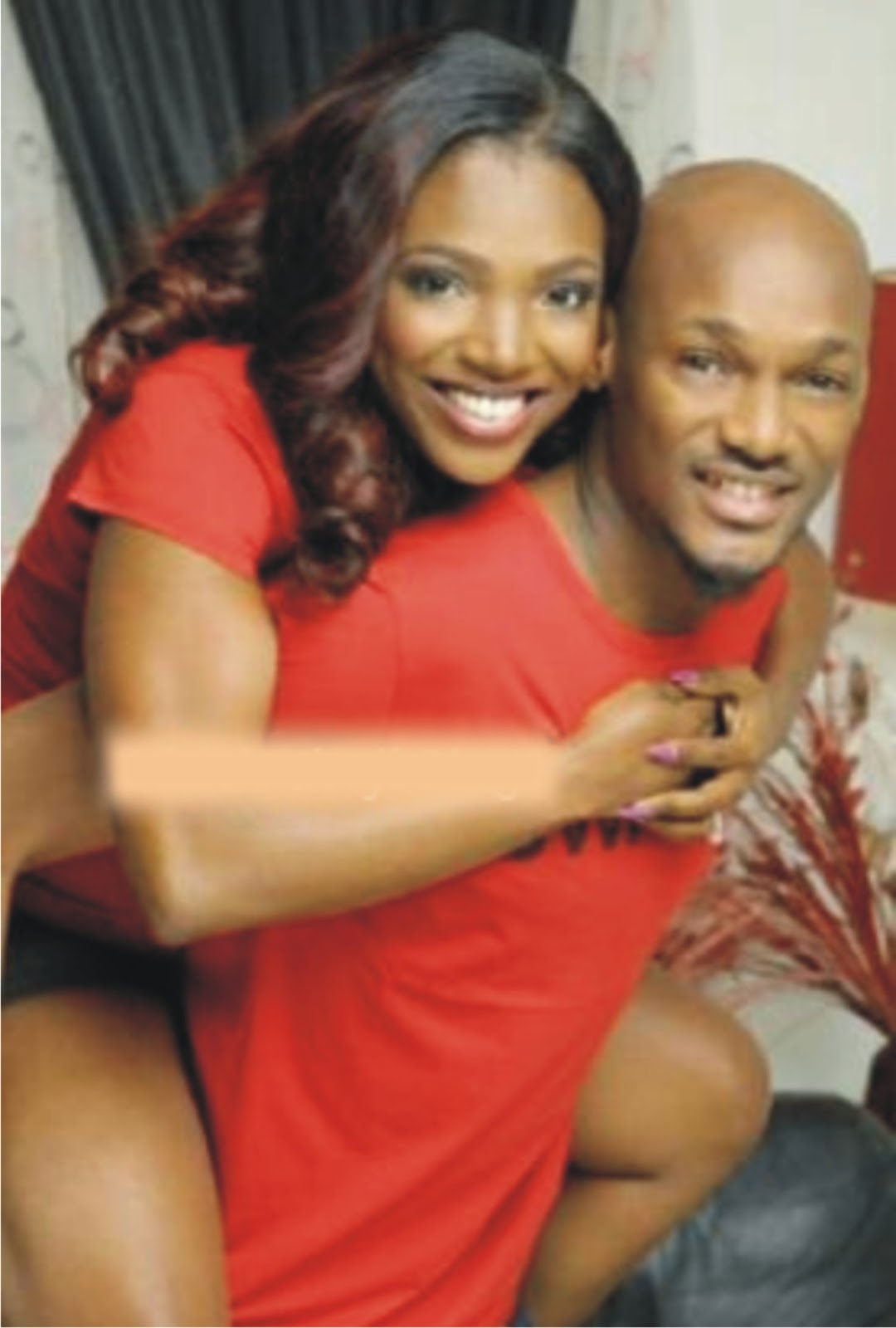 2face idibia annie white wedding dubai