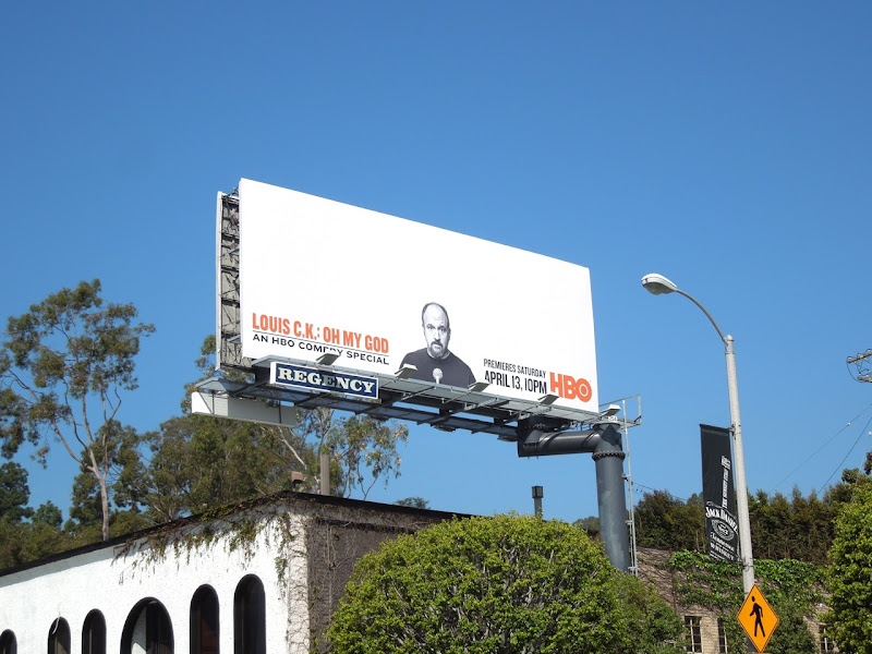 Louis CK Oh My God HBO billboard