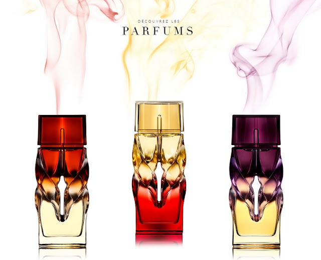Parfums : Bikini Questa Sera, Tornade Blonde, Trouble in Heaven - Christian Louboutin - Blog beauté Les Mousquetettes