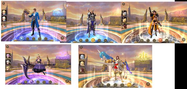 Gerakan Karakternya Pada Gesit! Game Android MMORPG 3D Daybreak Legends : Origin