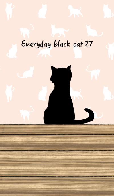 Everyday black cat27