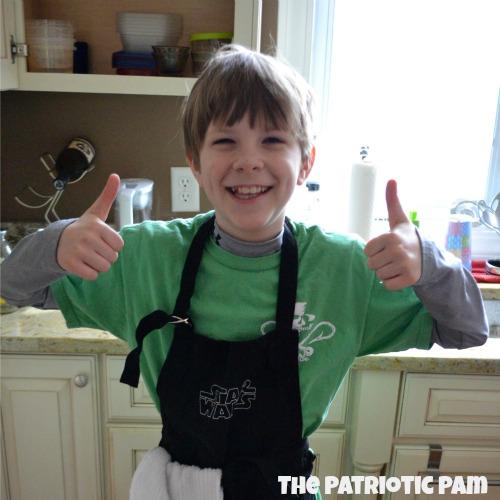 The Patriotic Pam Pretzel Rolls - prep cook
