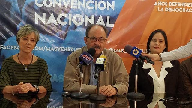 MAS: El 9D podemos dar un claro mensaje de la situación en Venezuela.