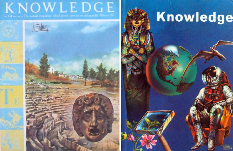 Knowledge: the colour magazine which grows into an encyclopædia