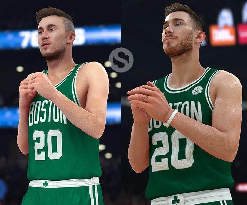 NBA 2k18 NBA 2k17 Gordon Hayward Comparison