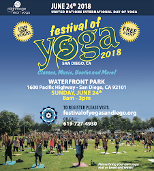 Register now for the San Diego Yoga Festival - June 24!