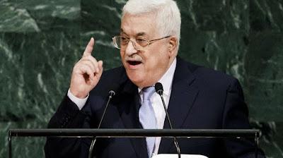 Abbas quer que UE reconheça estado da Palestina