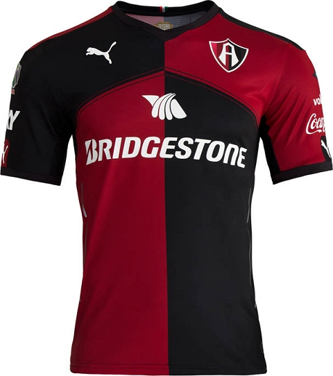 Puma lança as novas camisas do Atlas do México - Show de Camisas 4c9bc41896ab5