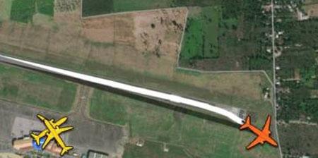 Avión se desliza fuera de pista al aterrizar en aeropuerto de Santiago