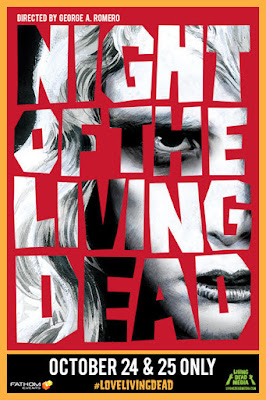 "Restored ""Night of the Living Dead"" in Theaters October 24-25 from Fathom Events"