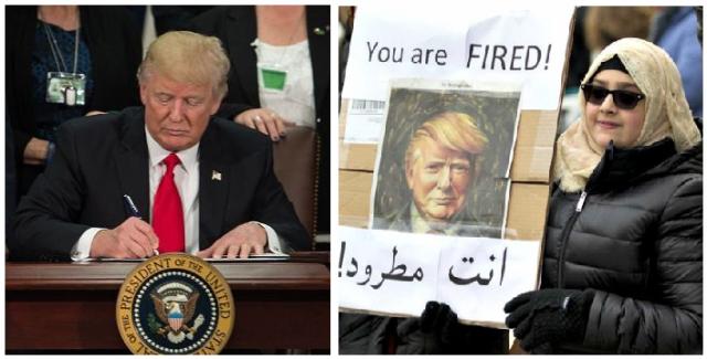 Trump signs executive orders to ban sharia