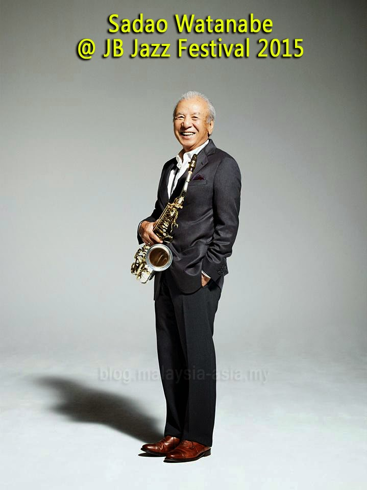 JB Jazz Fest 2015 Sadao Watanabe