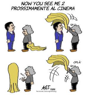 grillo, renzi, ballottaggio, elezioni amministrative, vignetta, satira