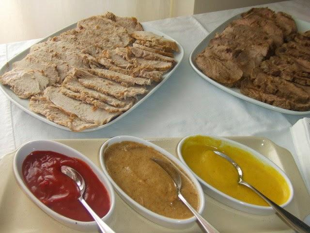 Receta de tres salsas para carnes asadas