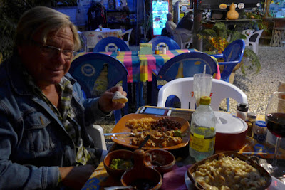 Dinner at El Burros in San Juanico